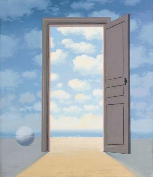 René Magritte, L'embellie, 1962.